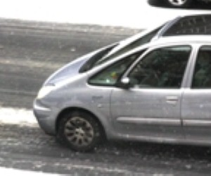 Snow caused a spike in car insurance claims, says the AA
