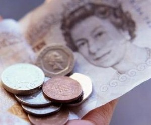 The overall pay packet in the UK has fallen by £52 billion