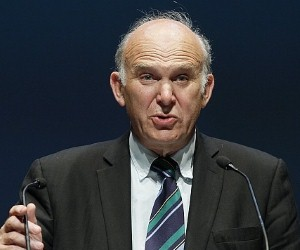 Vince Cable has criticised the stringent policies on capital of the central bank